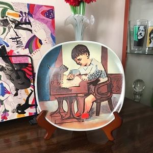 Pablo Picasso Limited Edition Paul Sketching Plate